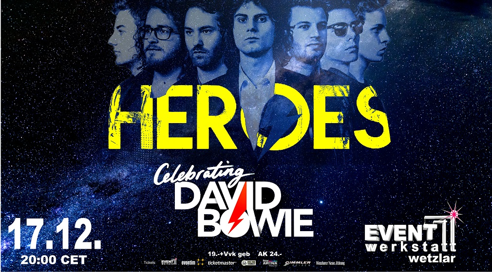 17.12.2021 - David Bowie celebrated by HEROES